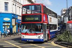 National Express Travel West Midlands 4575, BU04BKA. (EYBusman) Tags: city travel west bus town coach centre national express alexander dennis midlands wolverhampton trident alx400 eybusman bu04bka