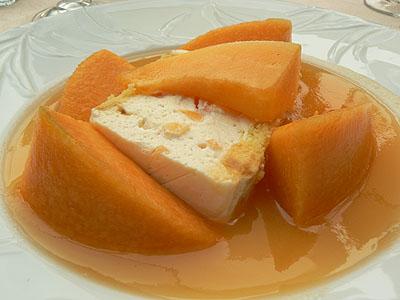 terrine de melon, sauce au muscat.jpg