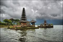A temple that floats Ver.II (Souvik_Prometure) Tags: bali indonesia sigma1020mm bratan lakebratan bedugul danaubratan ulundanu flickrsbest puraulundanubratan nikond80 purabratan souvikbhattacharya