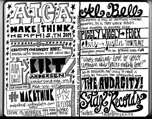 2009 AIGA Design Conference Sketch 1