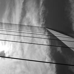 L'chelle du ciel (antoine takes pictures) Tags: bridge bw mars argentine buenosaires noiretblanc nb calatrava pont laboca 2009 marche moc puentedelamujer minimalisme crve ingallery marche2 marche3 crve2 crve3 crve4 marche5 marche4 m5c4