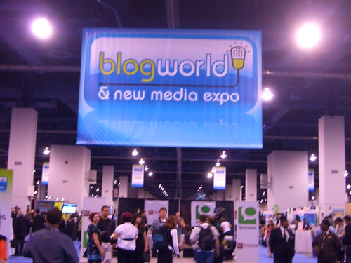 blogworld exhibit hall