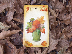 "Cutting board ""Autumn bouquet"""