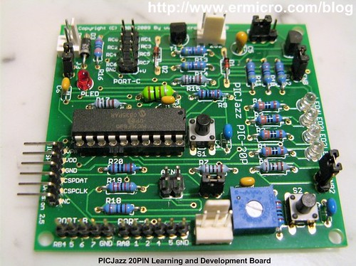 PICJazz 20PIN Learning and Development Board (2)