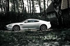 DBS. (Denniske) Tags: autumn canon silver photography eos gris is october belgium 10 belgi automotive 09 l mm 20 dennis 70200 2009 f28 ef 20th aston limburg zolder v12 silber noten argento lseries zilver llens 40d denniske vroemdag dennisnotencom astonmartindbsbydennisnotencom