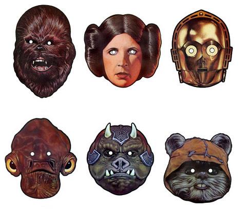 image relating to Star Wars Mask Printable known as Printable Star Wars Masks Munchkins and Mayhem