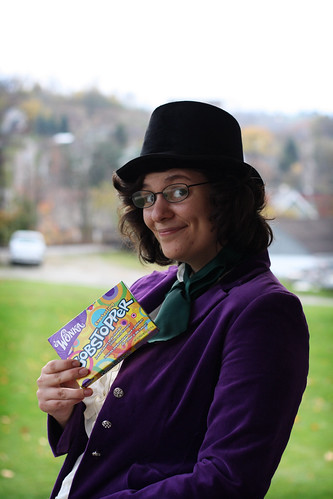 Willy Wonka by ginnerobot