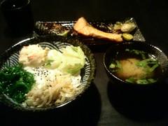 海鮮三色丼