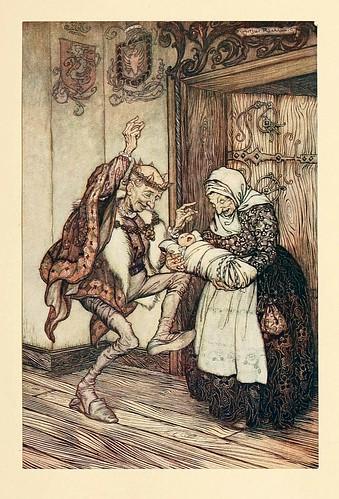 013-Briar rose- Snowdrop & other tales 1920- Grimm-Ilustrada por Rackham