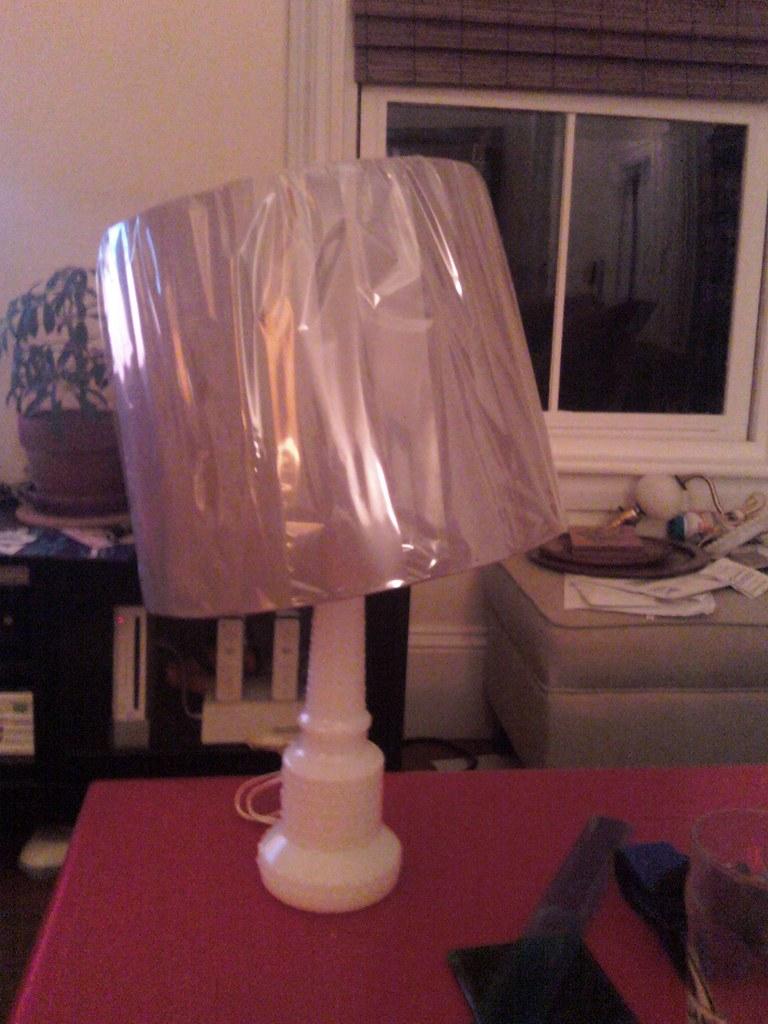 Lamp shade comedy