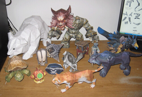 papercraft-world-of-warcraft-characters