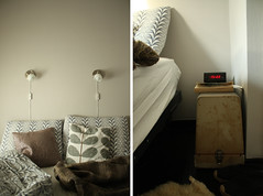 Holland home bedroom VI (souvenirs du pass rcent) Tags: house black ikea home grey bed bedroom graphic linen interior