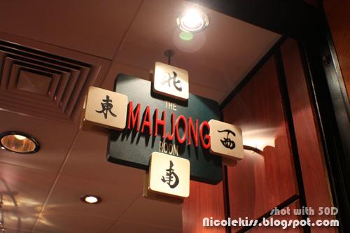 mah jong room