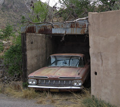 Bisbee, AZ (130) (DB's travels) Tags: arizona bisbee abandoned cars konomark