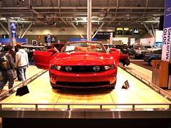 Do Not Touch: Ford Mustang at New England Auto Show