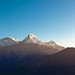 Annapurna South Peak from Poon Hill