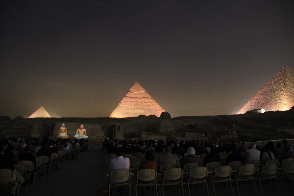 Giza Pyramids Light & Sound Show