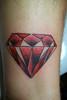 diamond old school style tattoo Craigy Lee Tattoo