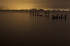 Moods of LIght #1 of 3 - Sausalito, Ca (Rich Capture) Tags: sanfrancisco california wood sea lighthouse seascape water sunrise landscape bay glow east richard wharf citylights baybridge alcatraz sausalito goldenhour tms tellmeastory theunforgettablepictures richardmatyskiewicz matyskiewicz bueatifullight