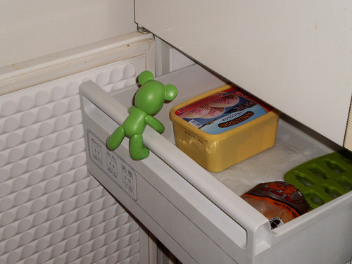 12/365 - whats he doing in the freezer