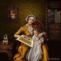 the first lesson (helenbar) Tags: wallpaper photoshop victorian ornaments prints carvedwood woodcarving jewelbox helenbar owenjones xixcentury handembroidery baptismgown greatexhibition1851 thegrammarofornament gustavedor chromolithography photomanipulaion dagobertpeche paradiseandtheperi baxterprint thesacredbible