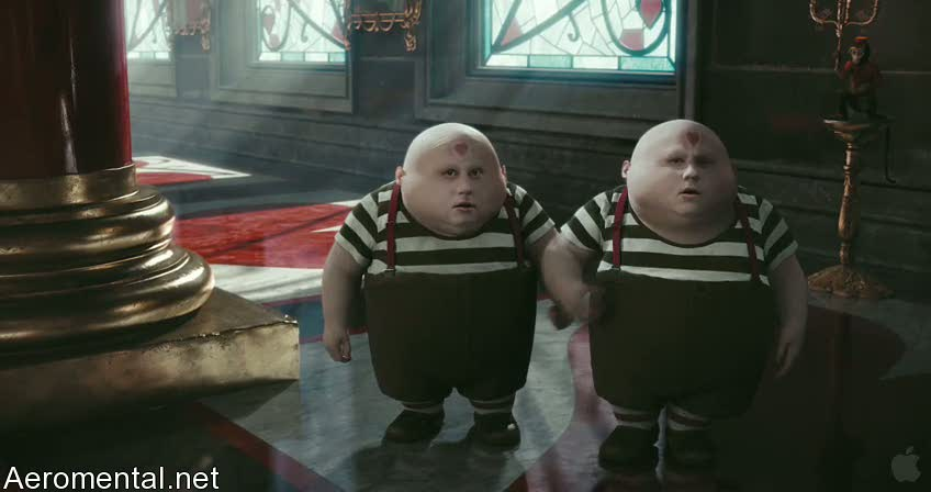 Alice in Wonderland Tweedledee Tweedledum