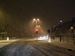 Chelmsford Snowstorm December 17th 2009. (Stuart Axe) Tags: city uk greatbritain winter england white snow storm cold ice weather night frost unitedkingdom snowstorm nighttime gb blizzard essex winterstorm chelmsford bigfreeze countytown thebigfreeze countyofessex cityofchelmsford