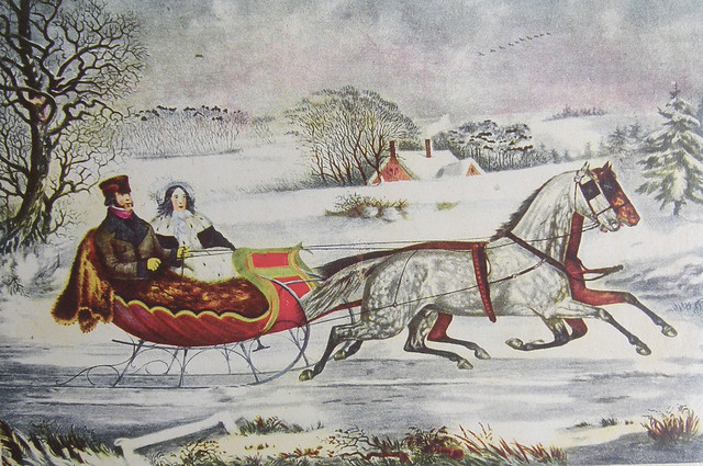 Sleigh Ride - Currier & Ives