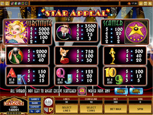 free Star Appeal slot mini symbol
