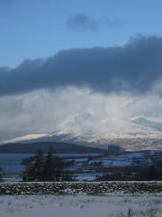 Trawsfynydd (Eddie C) Tags: snow wales cycling nuclear snowdonia powerstation route8 trawsfynydd