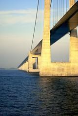 under the bridge (liz&jeff) Tags: copenhagen denmark sweden malmo celebrityconstellation oresundbridge northerneuropecruise patonphotography oresundstraight