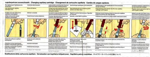 Rapidograph instructions