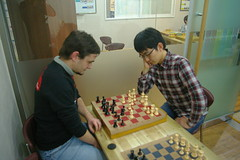Chess with Oh Chimin
