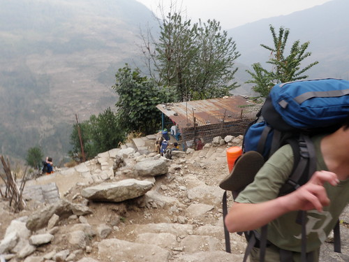 Trek Day 1 Nayapul to Ulleri