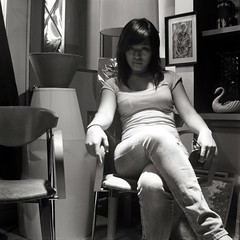 Zee End Of all Days (Burnt Umber) Tags: urban bw 120 6x6 film girl vietnamese kodak explore jeans brownie plus hawkeye ilford fp4 ue 620 urbex allrightsreserved flurbex zeeanna rpilla001