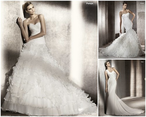 Pronovias 2012 collection, Love Couture Bridal, Pronovias Pamela, Pronovias Paris, Pronovias Pampa