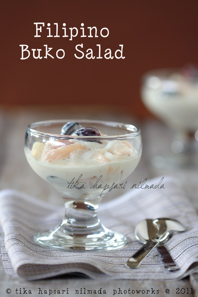 (Homemade) Filipino Buko Salad