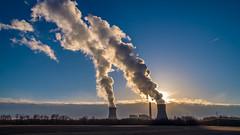 power plant evening-1 (chrisfergusonworks) Tags: powerplant southernindiana 231 spencercounty chrisferguson ricoh gxr a16module 2485 ricohgxr