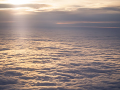 Somewhere in between 2 heavens - one up above and one down below (ravi_pardesi) Tags: clouds cloudy sunset cloudscape sky canada amazing discoveron lovely northamerica north beautiful nature dramatic mood softtones