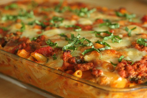 Yummy baked ziti recipe