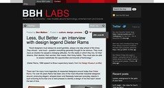 Less, But Better - an interview with design legend Dieter Rams « BBH Labs_1246635419168