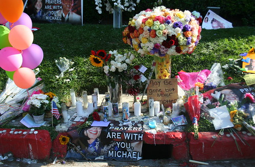 MJ Rest In Peace beverly hills LA