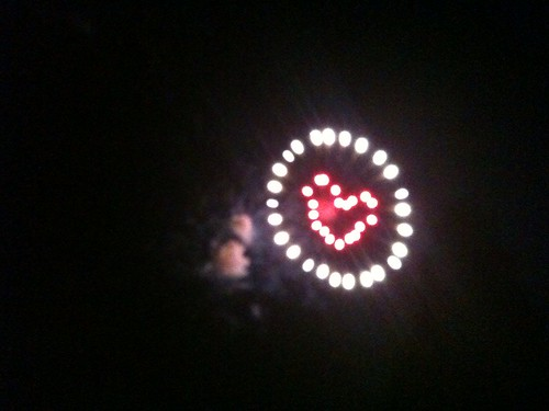 Shiny Heart firework spotting in the wild - Happy 4th of July!