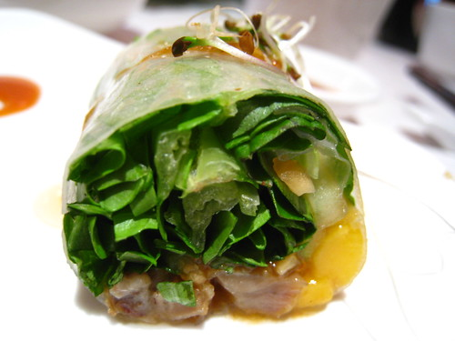 Mango & Duck Roll