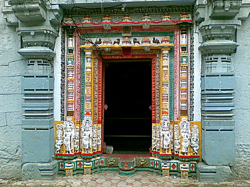 Side Entrance of Shiva temple at Narayanpur