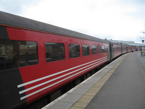 Train Chartering - 700-seat train used for Cruise Ship Marco Polo Passengers