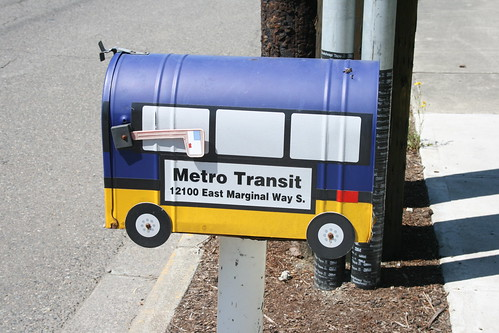 Metros Mailbox, by Atomic Taco