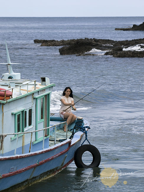 Fishing on the rugged shores and waters of Batanes