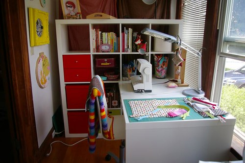 Craftroom remodel - New desk