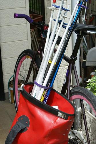 Bike Polo in Ichikawa(Depot)